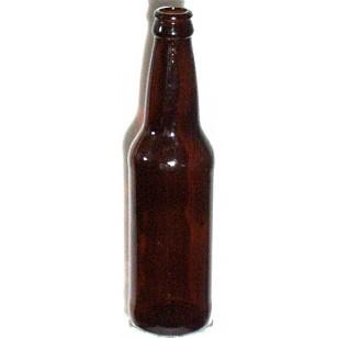 12 OZ AMBER BEER BOTTLES 24/CASE