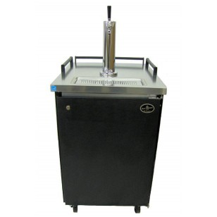Single Tower Black Exterior- Professional Series Homebrew (kegs not included) **FREE SHIPPING**