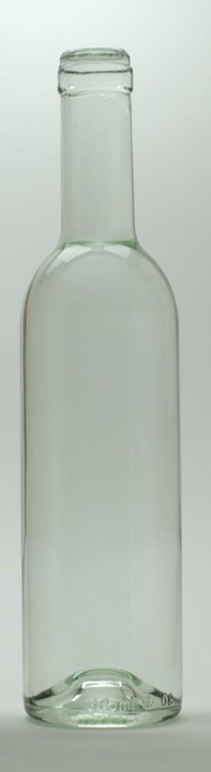 375mL CLEAR SEMI-BORDEAUX MID-PUNT BOTTLES 24/CASE