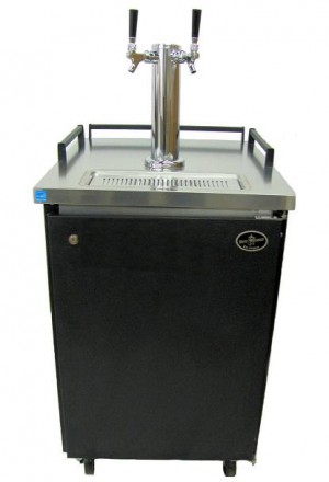 Dual Tower Black Exterior- Professional Series Homebrew (kegs not included) **FREE SHIPPING**