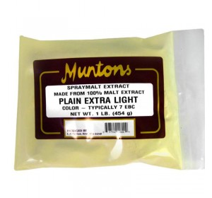 MUNTONS 1 LB PLAIN EXTRA LIGHT SPRAY DRIED MALT EXTRACT