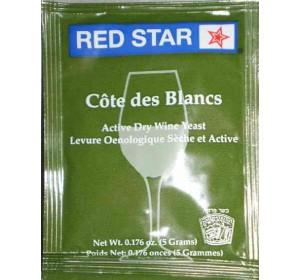 RED STAR COTE DES BLANC WINE YEAST