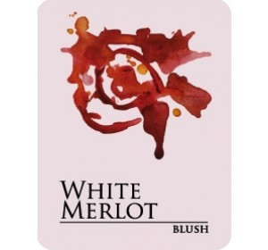 WHITE MERLOT WINE LABELS 30/PK