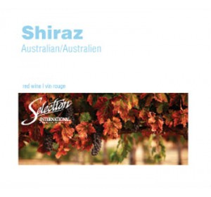 SEL INT'L AUSTRALIAN SHIRAZ WINE LABELS 30/PACK