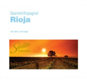 SEL INT'L SPANISH RIOJA WINE LABELS 30/PACK