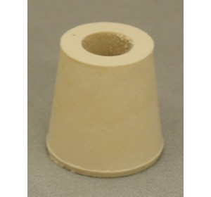 #3 DRILLED RUBBER STOPPER