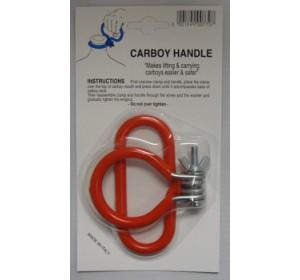 ORANGE CARBOY HANDLE