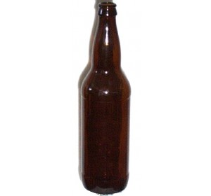 22 OZ AMBER BEER BOTTLES 12/CASE