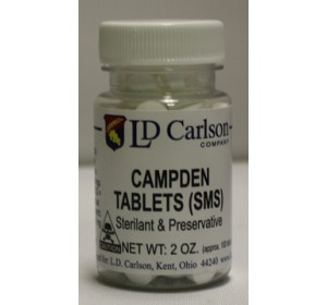 SODIUM CAMPDEN TABLETS 100 COUNT