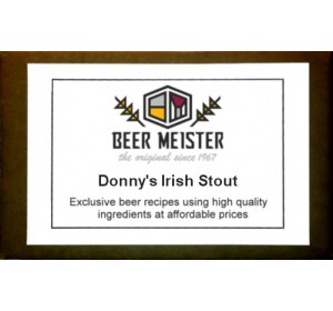 Donny's Irish Stout