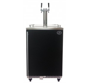 DUAL TOWER WITH BLACK DOOR HOMEBREW- PREMIUM SERIES (no kegs included) **FREE SHIPPING**