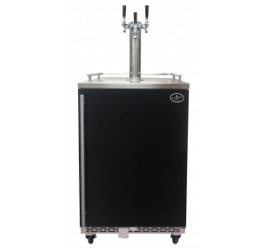 TRIPLE TOWER WITH BLACK DOOR HOMEBREW- PREMIUM SERIES **FREE SHIPPING**