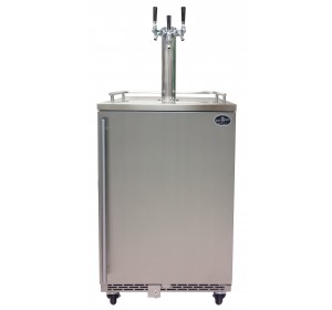 TRIPLE TOWER WITH STAINLESS STEEL DOOR HOMEBREW- PREMIUM SERIES (no kegs included) **FREE SHIPPING**