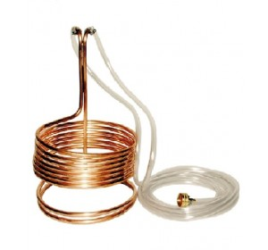 Standard Wort Chiller with Garden Hose Fittings