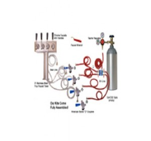 4 Faucet Tower Premium Conversion Kit