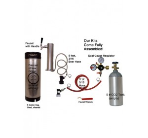 1 Faucet Tower Economy Kit with Cornelius/Firestone Keg