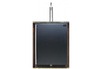 Single tower with black door built-in - Premium Series