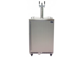 Triple tower with stainless door- Premium Series